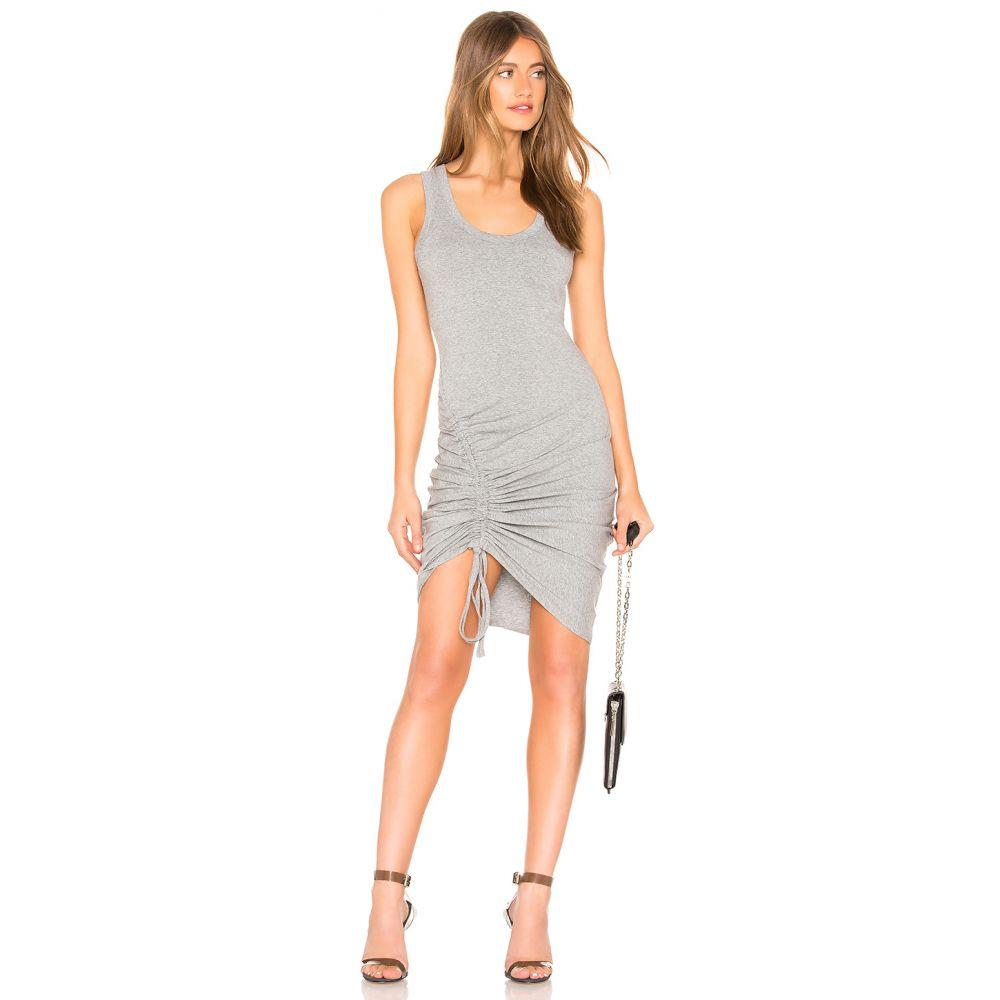 ケンダル&カイリー KENDALL + KYLIE レディース トップス タンクトップ【Ruched Tank Dress】Heather Grey
