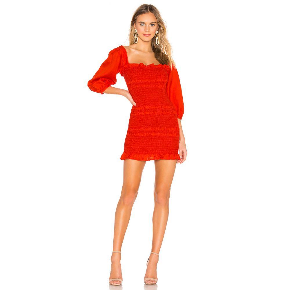 キャプレット Capulet レディース ワンピース・ドレス ワンピース【Siobhan Dress】Tangerine