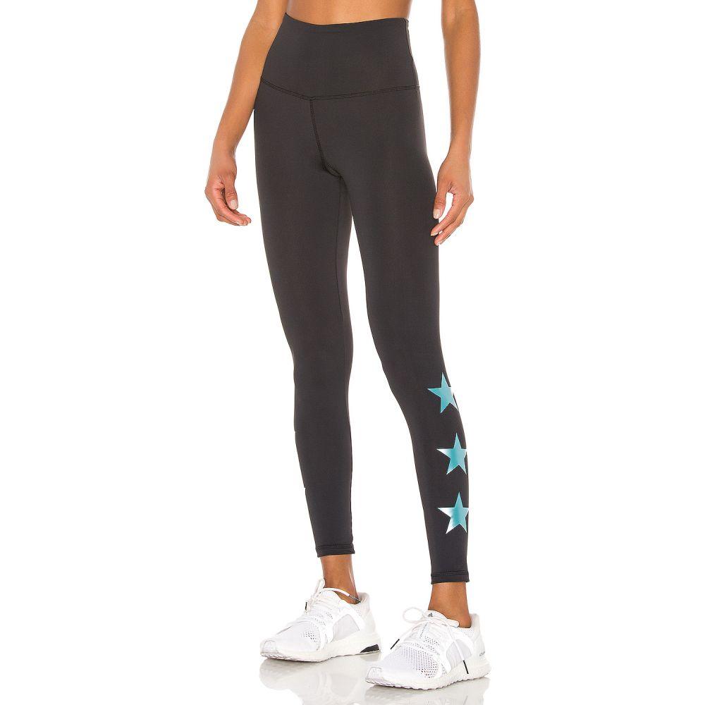 ストラット ディス STRUT-THIS レディース インナー・下着 スパッツ・レギンス【Star Ankle Legging】Black & Teal