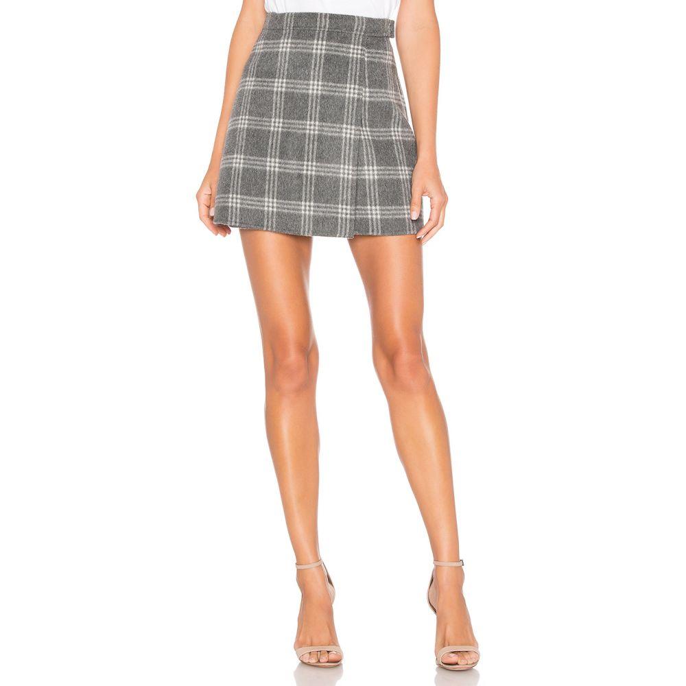 セオリー Theory レディース スカート ミニスカート【Snap Mini Skirt】Charcoal Melange Multi