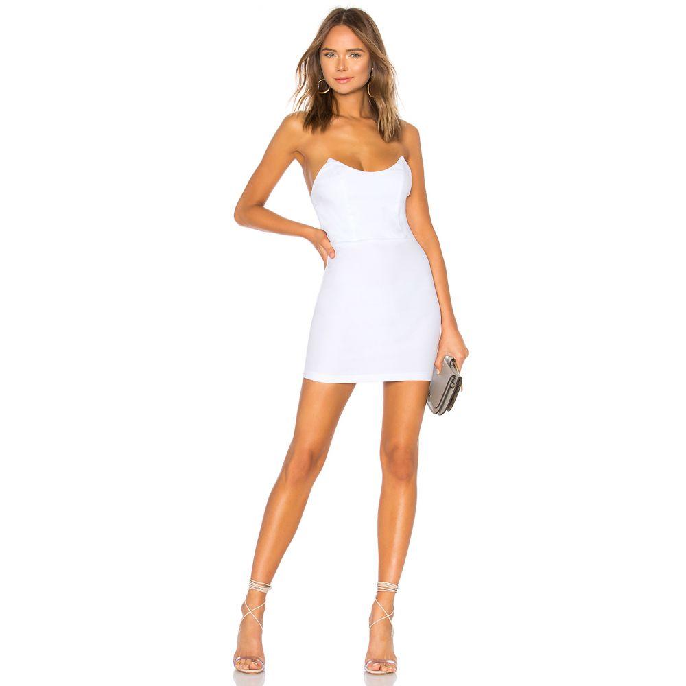 スーパーダウン superdown レディース ワンピース・ドレス ワンピース【Stevie Sweetheart Mini Dress】White
