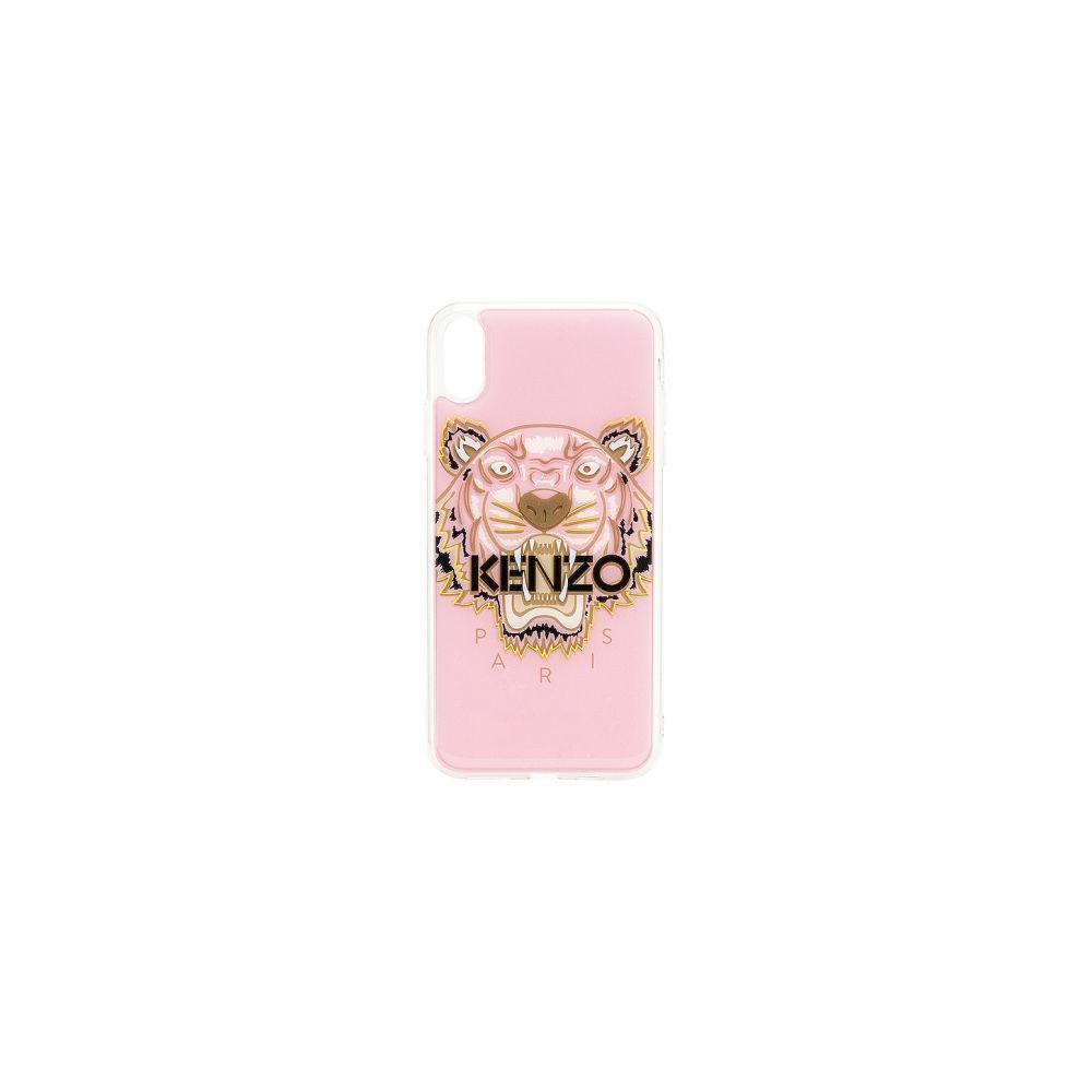 ケンゾー Kenzo レディース iPhone (X)ケース【Tiger Head iPhone Xs Max Case】Pastel Pink