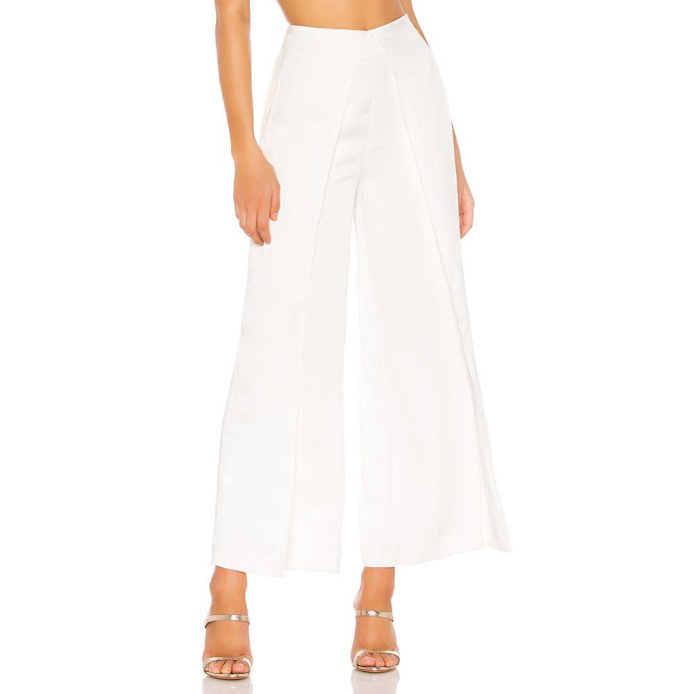トゥラロサ Tularosa レディース ボトムス・パンツ【Tierce Pants】White