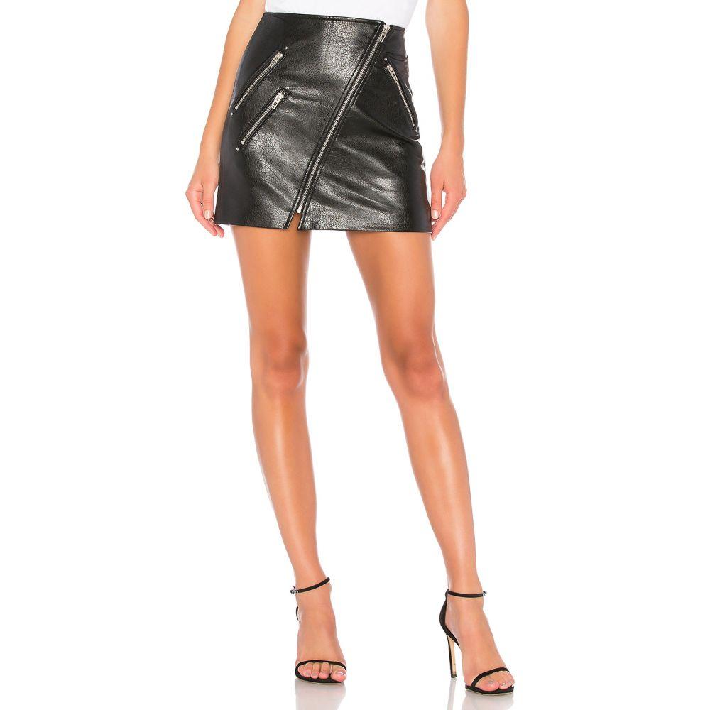ブランクニューヨーク BLANKNYC レディース スカート ミニスカート【Vegan Leather Front Zip Mini Skirt】House Party