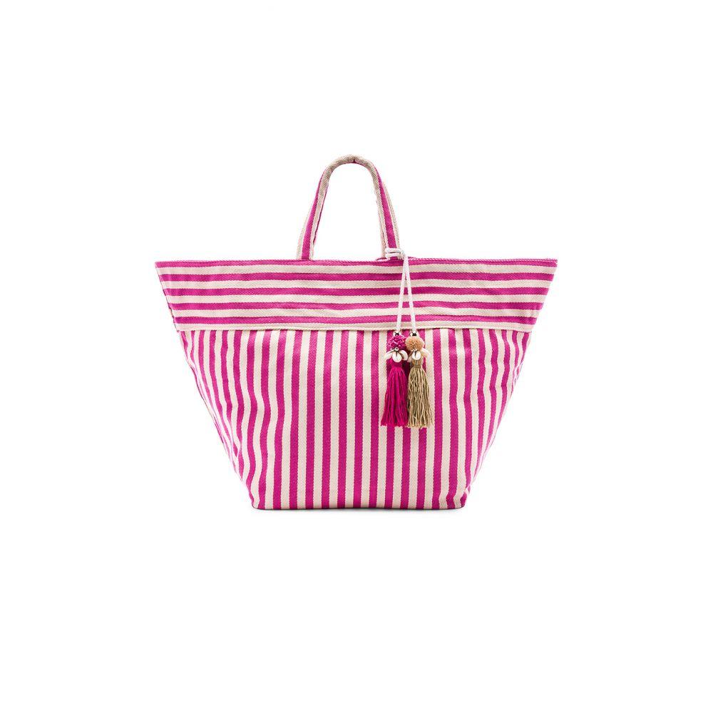 ジェイドトライブ JADEtribe レディース バッグ【Valerie Large Beach Bag Puka】Pink