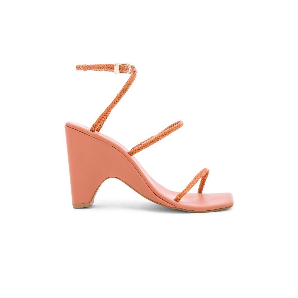 ジャガー JAGGAR レディース シューズ・靴 サンダル・ミュール【Woven Wedge Sandal】Clay