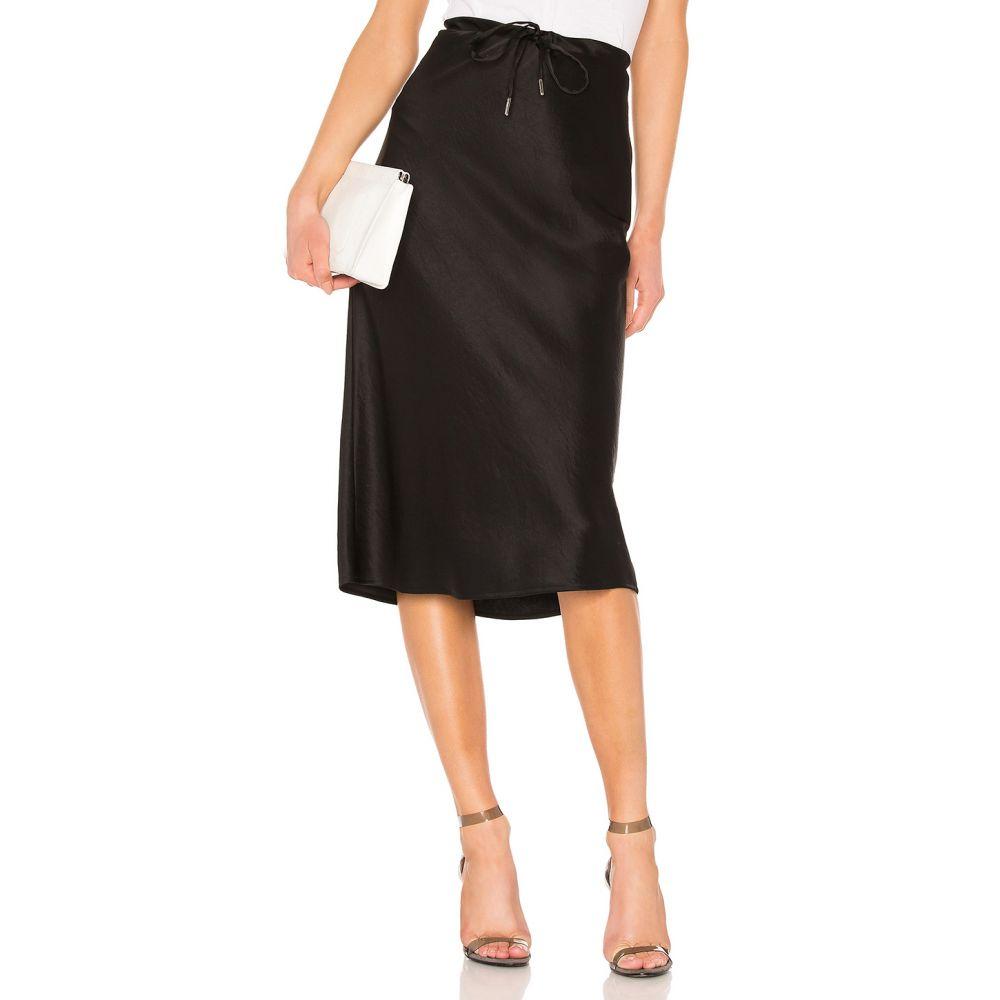 アレキサンダー ワン T by Alexander Wang レディース スカート【Wash & Go Woven Drawstring Skirt】Black
