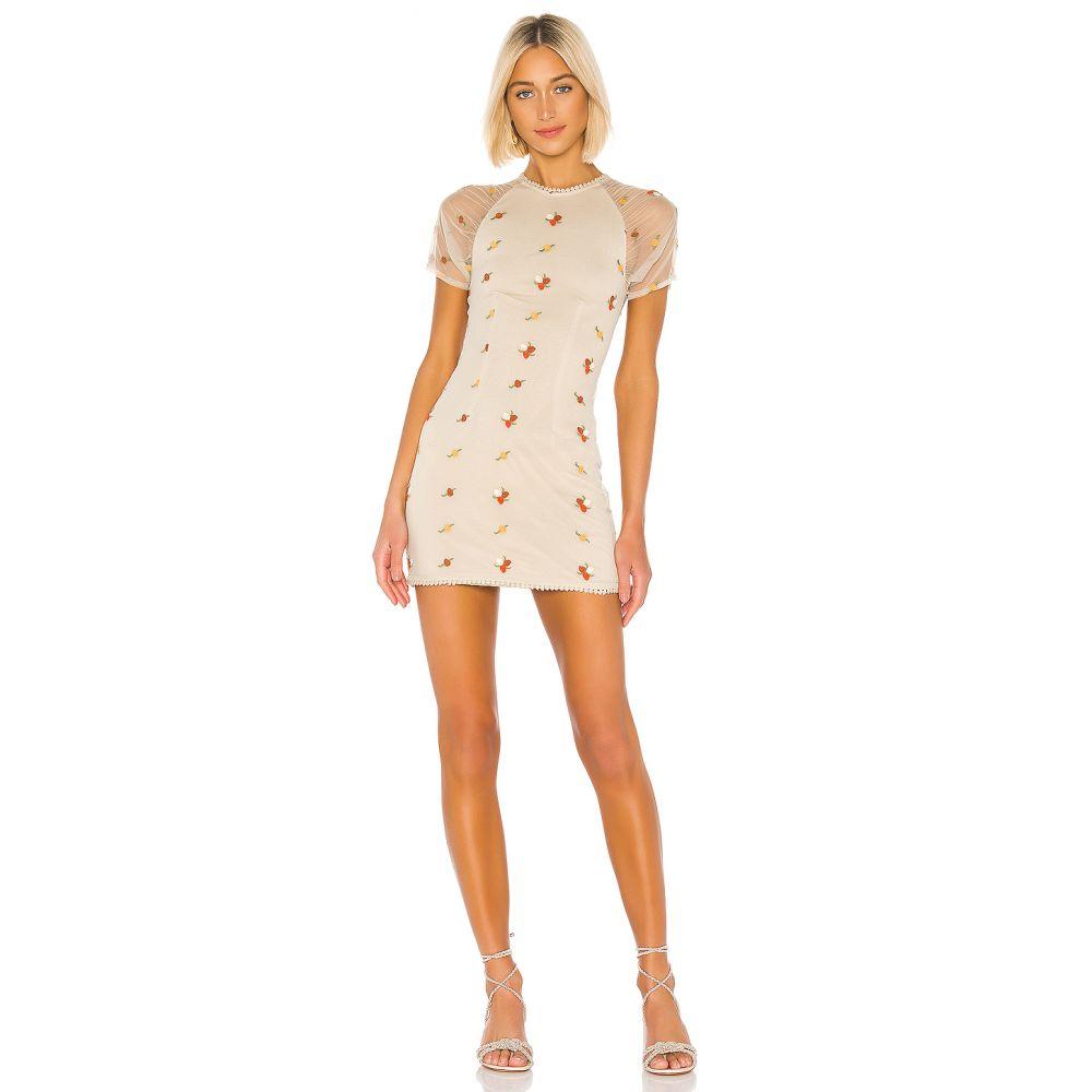 ハウスオブハーロウ1960 House of Harlow 1960 レディース ワンピース・ドレス ワンピース【X REVOLVE Hilde Dress】Oatmeal