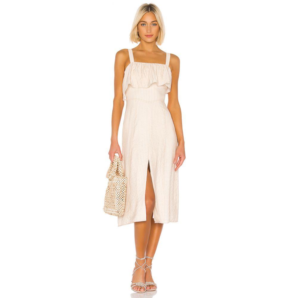ハウスオブハーロウ1960 House of Harlow 1960 レディース ワンピース・ドレス ワンピース【x REVOLVE Felicia Midi Dress】Ivory