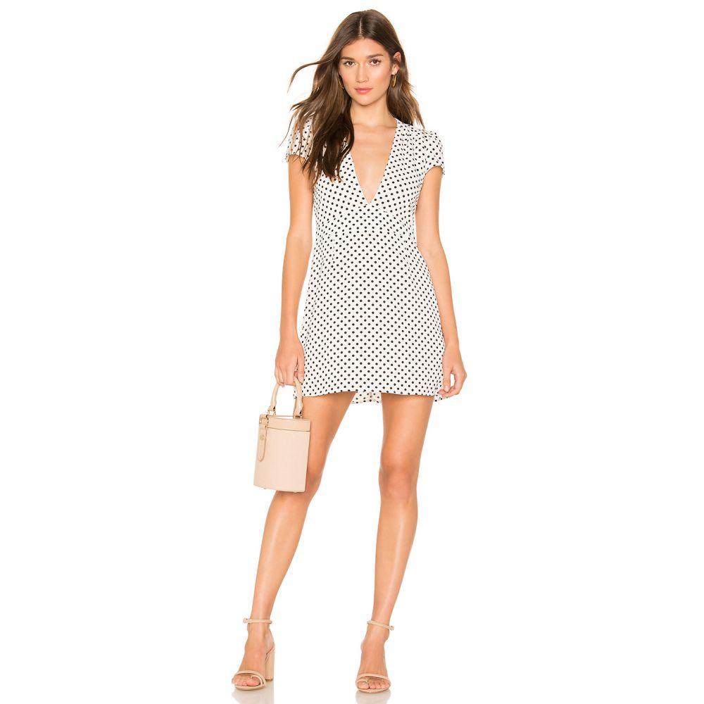 エンドレスサマー Endless Summer レディース ワンピース・ドレス ワンピース【Bobby Mini Dress】White & Black Polka Dot