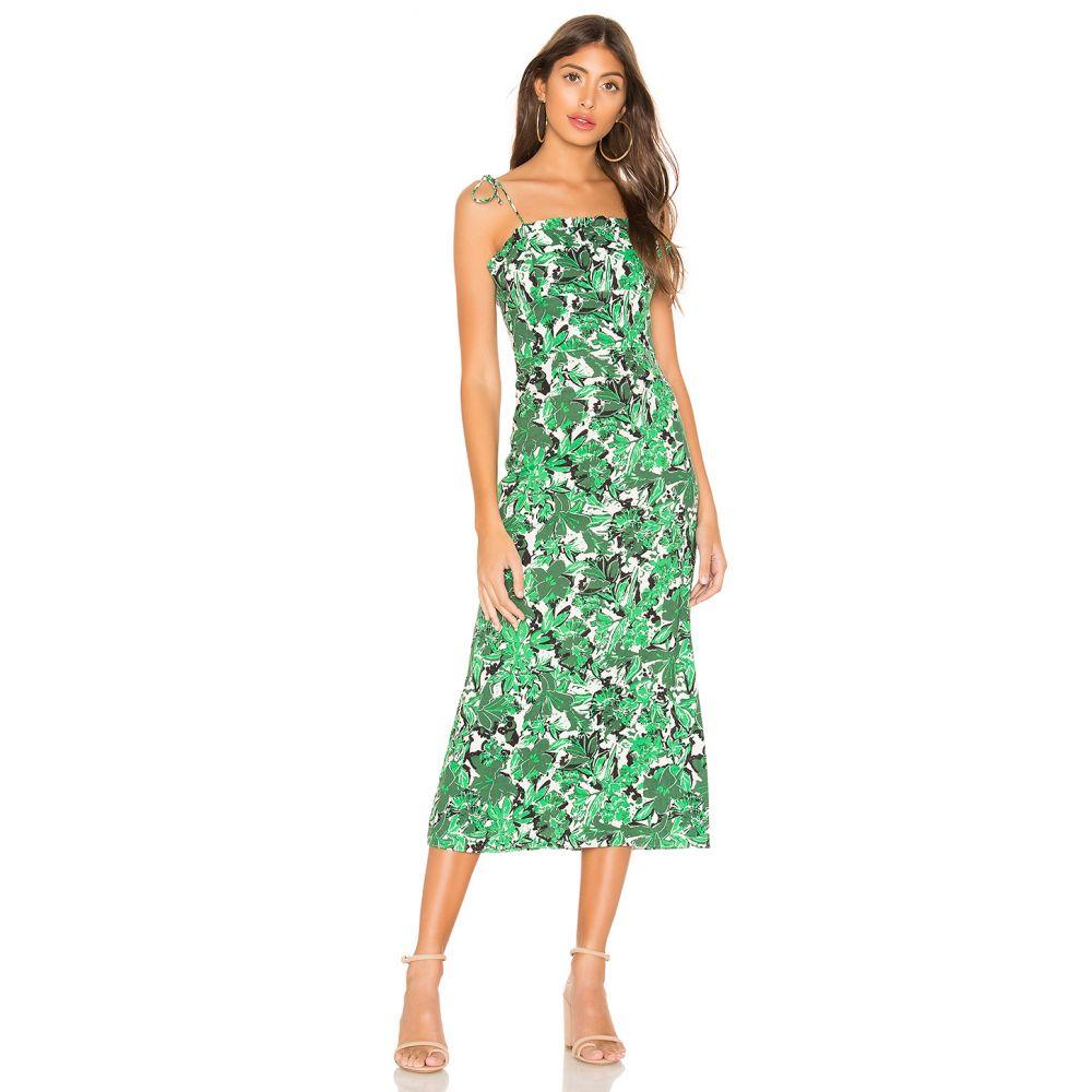 フリーピープル Free People レディース ワンピース・ドレス パーティードレス【Beach Party Midi Dress】Green Combo