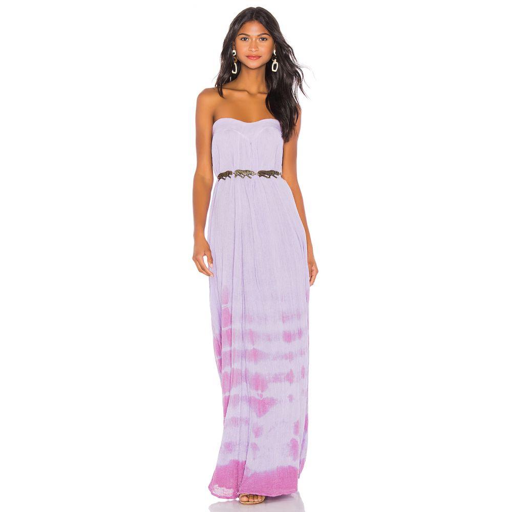 ジェンズパイレーツブーティ Jen's Pirate Booty レディース ワンピース・ドレス ワンピース【Belinda Dress】Lilac & Dried Rose Tie Dye