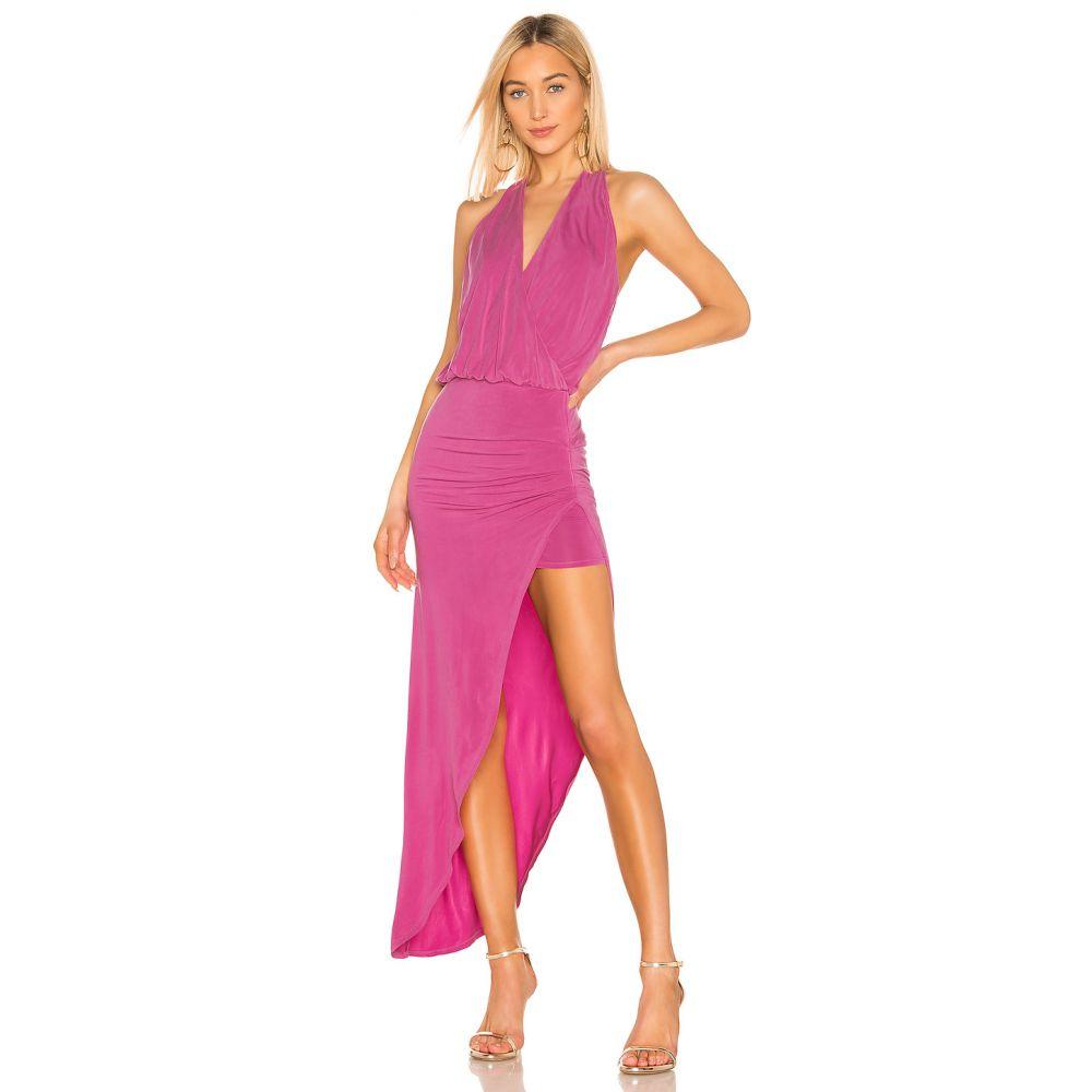 ヤングファビラスアンドブローク Young, Fabulous & Broke レディース ワンピース・ドレス ワンピース【Birdseye Dress】Fuchsia