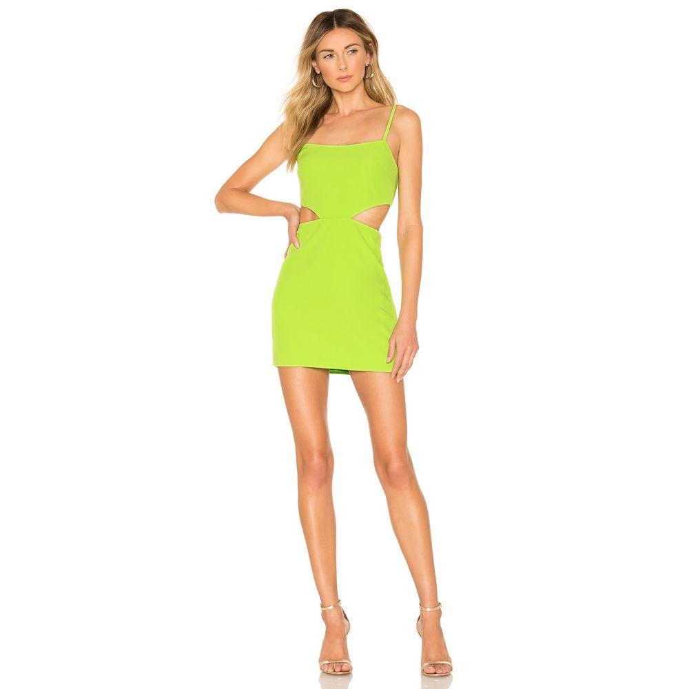 ラヴァーズフレンズ Lovers + Friends レディース ワンピース・ドレス ワンピース【Brody Mini Dress】Lime