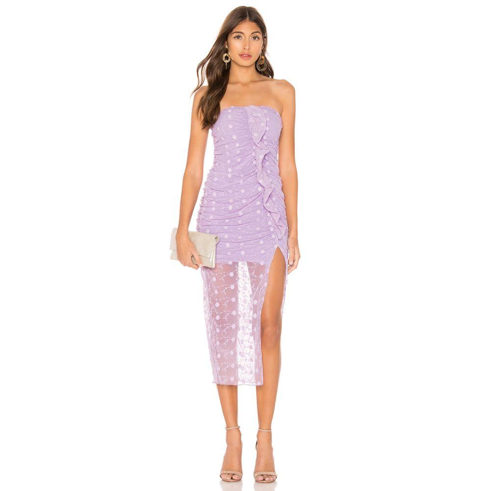 マジョレル MAJORELLE レディース ワンピース・ドレス ワンピース【Brady Dress】Amethyst Purple