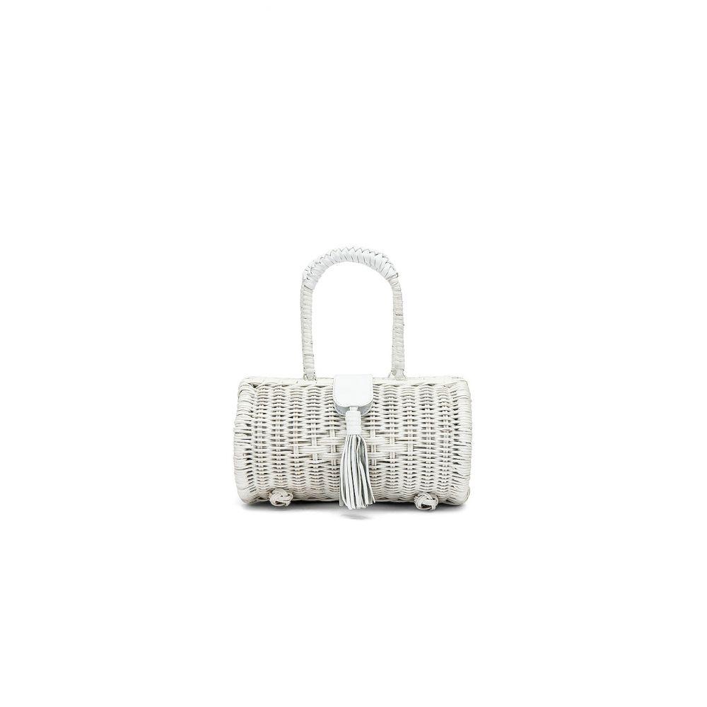 クレオベラ Cleobella レディース バッグ【Clarissa Basket Bag】White