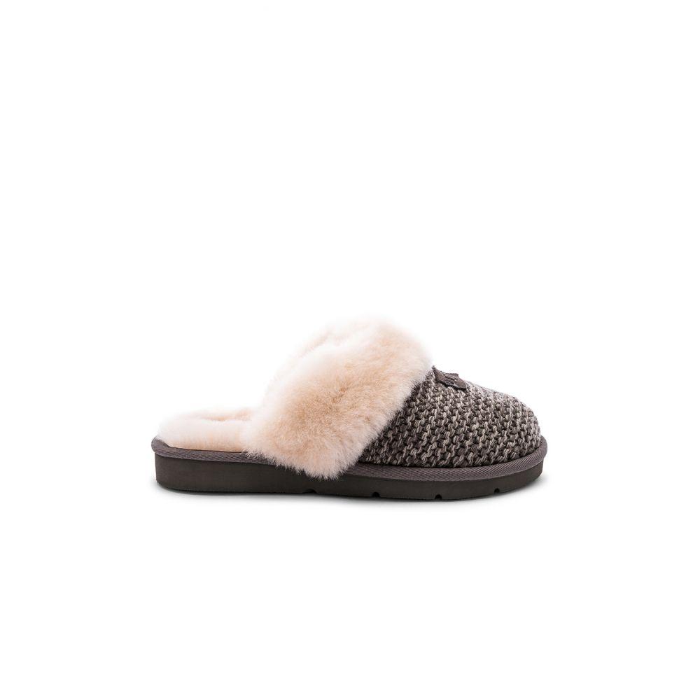 アグ UGG レディース シューズ・靴 スリッパ【Cozy Knit Slipper】Charcoal
