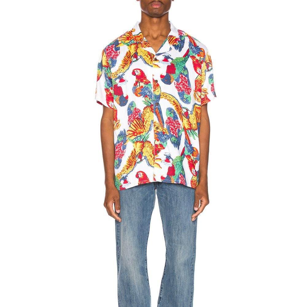 リーバイス LEVI'S Premium メンズ トップス【Cubano Shirt】Parrots Brilliant White