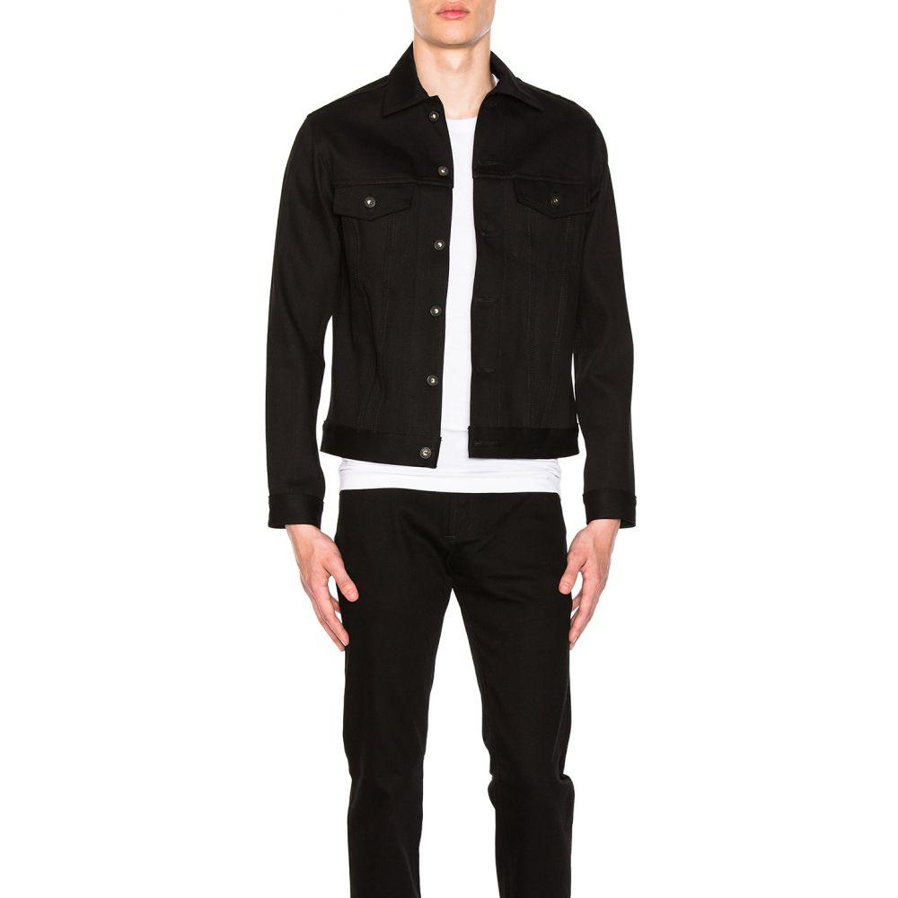 ネイキッド アンド フェイマス Naked & Famous Denim メンズ アウター ジャケット【Denim Jacket Solid Black Selvedge】Black