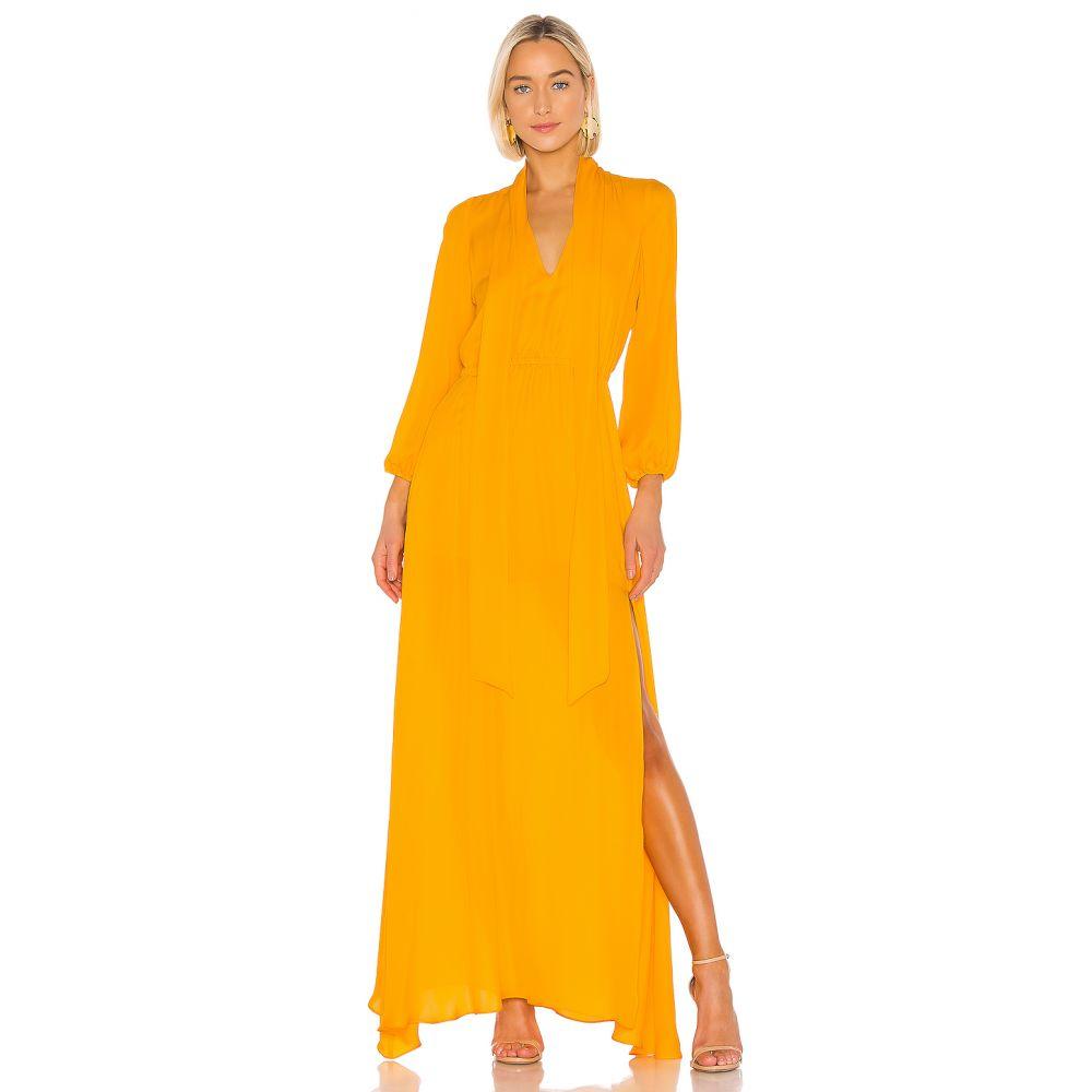 Rowley ワンピース【Ella レディース シンシア Dress】Marigold Cynthia Maxi ワンピース・ドレス ローリー