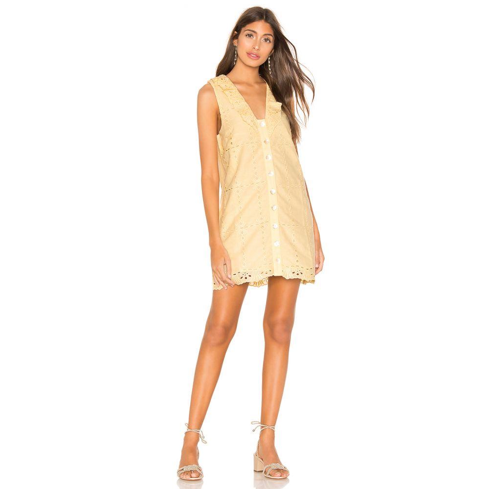 トゥラロサ Tularosa レディース ワンピース・ドレス ワンピース【Este Dress】Butter Yellow
