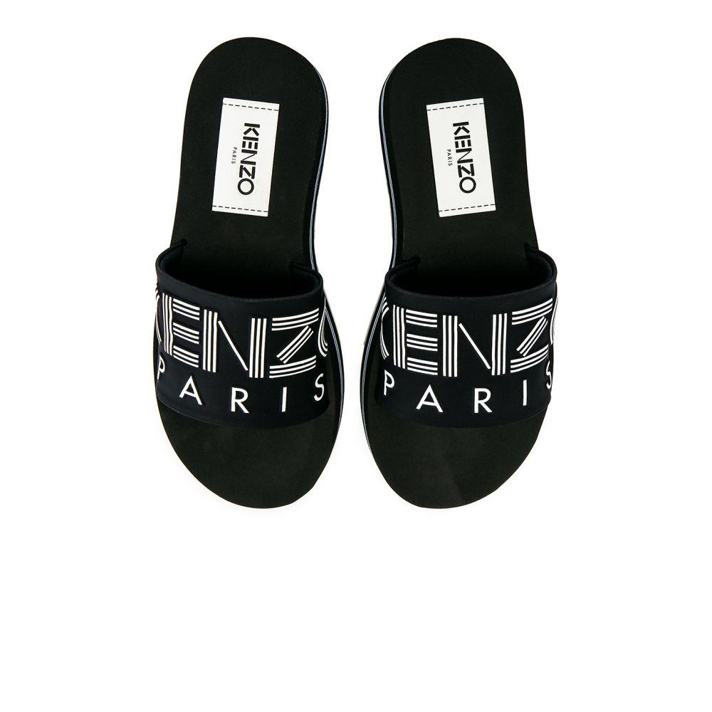 ケンゾー Kenzo レディース シューズ・靴 サンダル・ミュール【Papaya Platform Sporty Mules】Black