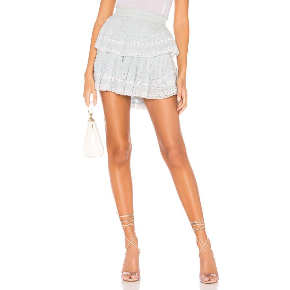 ラブシャックファンシー LoveShackFancy レディース スカート ミニスカート【Ruffle Mini Skirt】Riviera