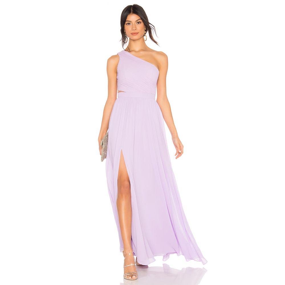 エヌビーディー NBD レディース ワンピース・ドレス パーティードレス【Australis Gown】Lilac
