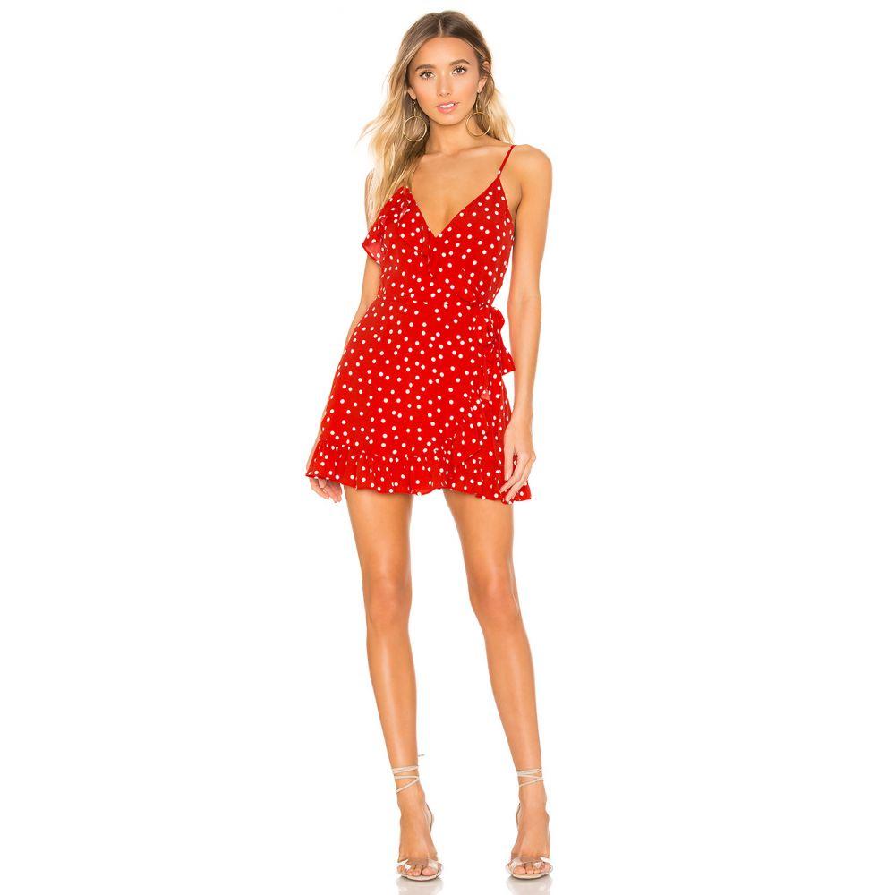 プライバシー プリーズ Privacy Please レディース ワンピース・ドレス ワンピース【Octavia Mini Dress】Red & Ivory