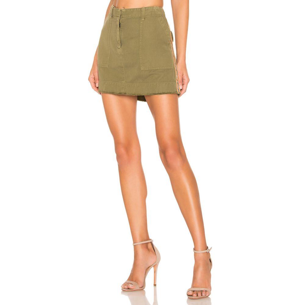 ニリ ロータン NILI LOTAN レディース スカート【Ilona Skirt】Uniform Green With Orange & Navy Tape