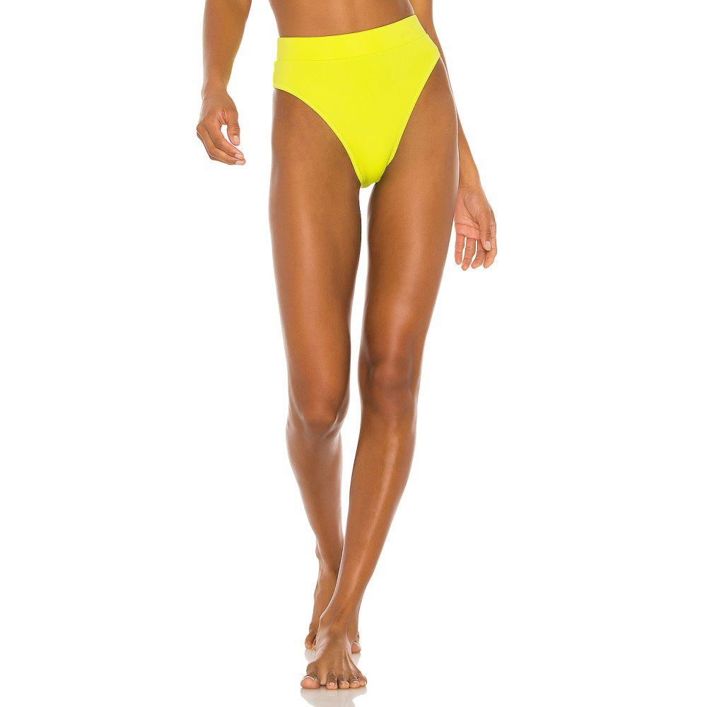 ニコラス NICHOLAS レディース 水着・ビーチウェア ボトムのみ【High Waisted Bikini Bottom】Fluorescent Lime