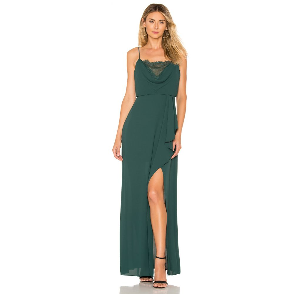 ビーシービージーマックスアズリア BCBGMAXAZRIA レディース ワンピース・ドレス パーティードレス【Lace Blouson Gown】Fern