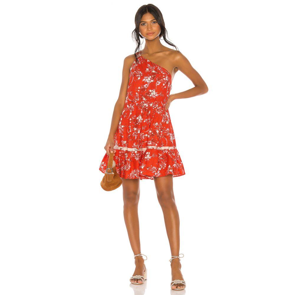 フリーピープル Free People レディース ワンピース・ドレス ワンピース【All Mine Mini Dress】Red