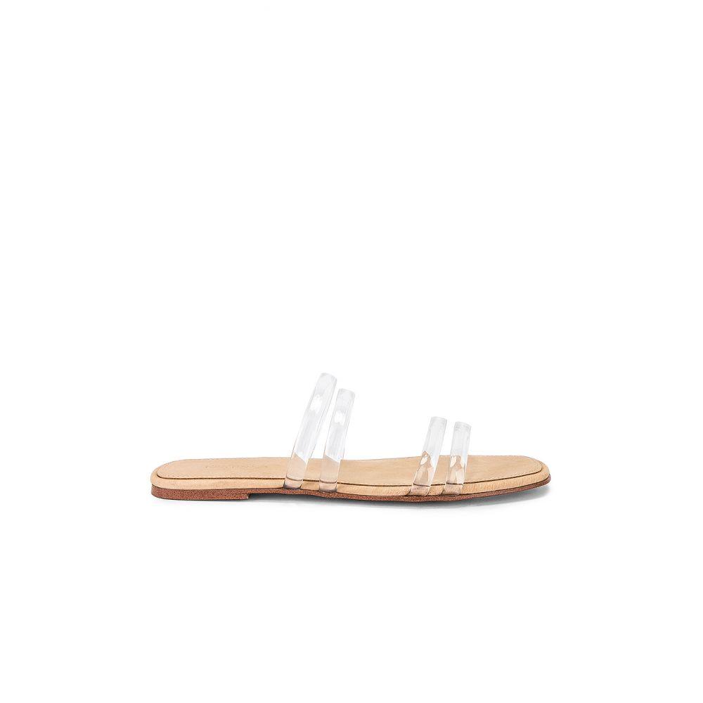 トニー ビアンコ Tony Bianco レディース シューズ・靴 サンダル・ミュール【Posch Slide】Clear Vinalite & White