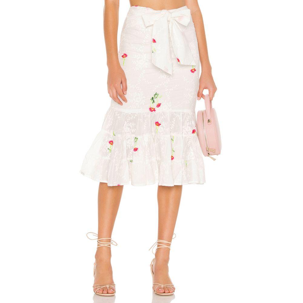 【本物保証】 トゥラロサ Tularosa レディース スカート【Emerie Skirt】Ivory, ファルマ シンシア 630ef6e0
