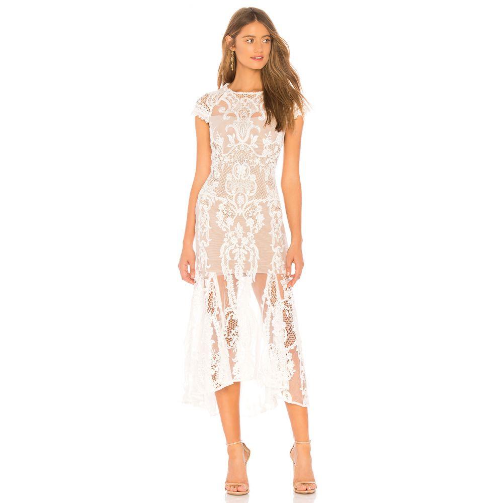 ブロンクス アンド バンコ Bronx and Banco レディース ワンピース・ドレス ワンピース【Bohemian Summer Dress】White