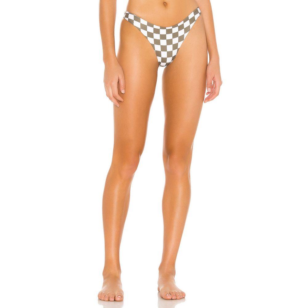 ミコー MIKOH レディース 水着・ビーチウェア ボトムのみ【Lahaina Bikini Bottom】Skater Olive