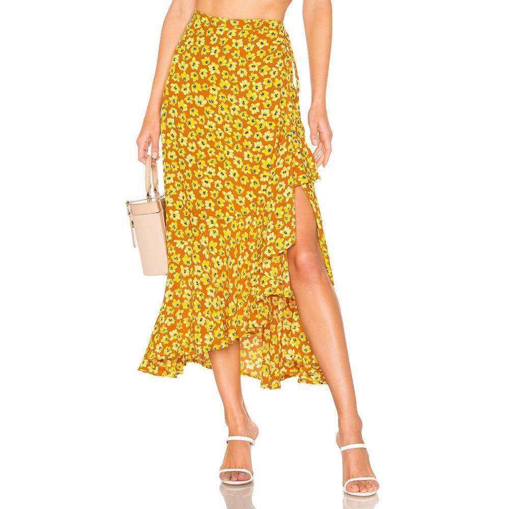 フェイスフルザブランド FAITHFULL THE BRAND レディース スカート【Jasper Skirt】Saffron Thelma Floral