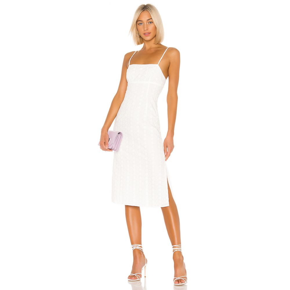 エルピーエー LPA レディース ワンピース・ドレス ワンピース【Janina Dress】White
