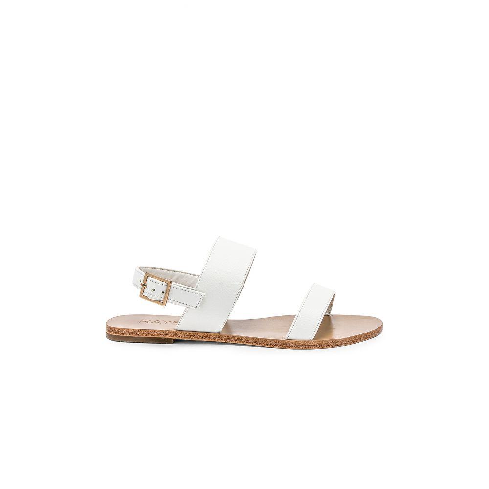 レイエ RAYE レディース シューズ・靴 サンダル・ミュール【Sol Sandal】White