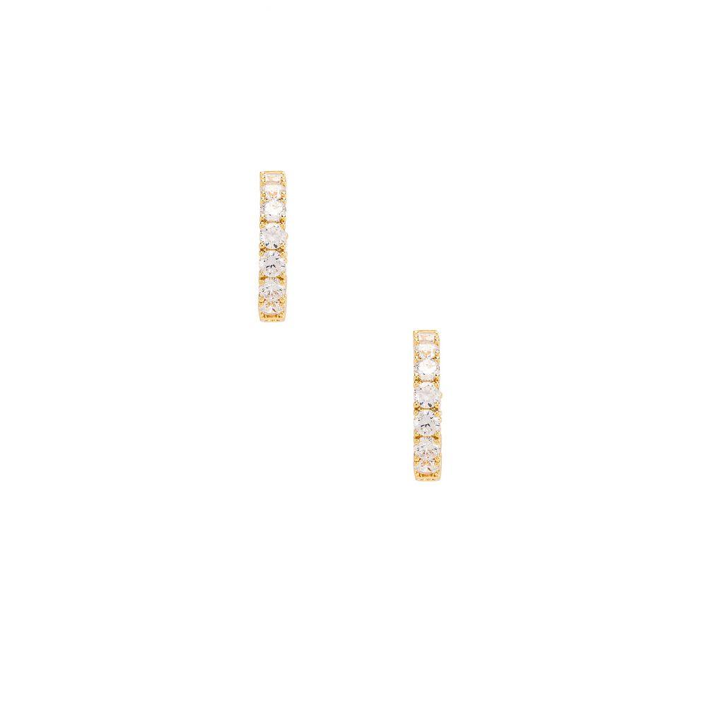 シャシ SHASHI レディース ジュエリー・アクセサリー イヤリング・ピアス【Stella Diamond Hoop Earring】Gold