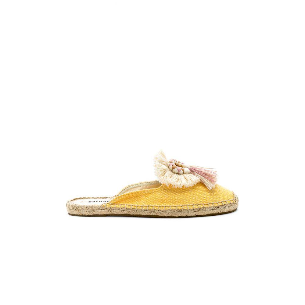ソルドス Soludos レディース シューズ・靴 サンダル・ミュール【Kiki Tassel Mule】Marigold