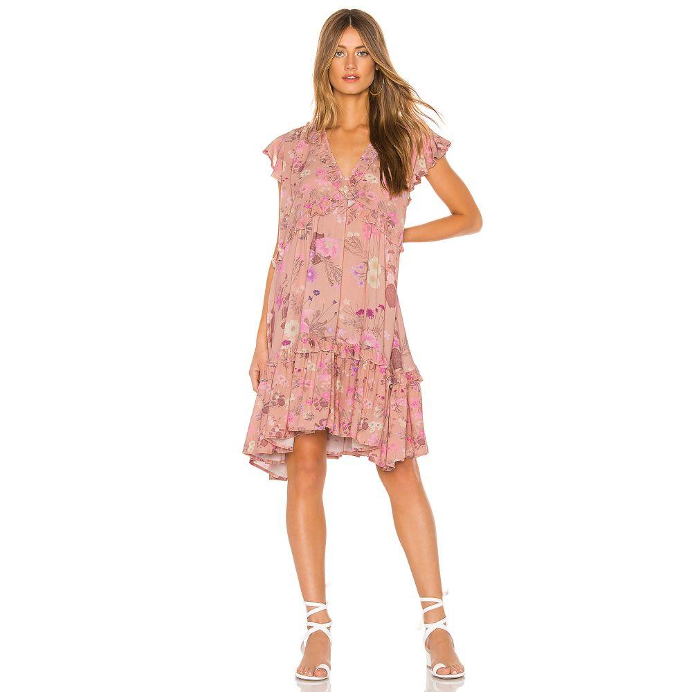 スペル アンド ジプシーコレクティブ Spell & The Gypsy Collective レディース ワンピース・ドレス ワンピース【Wild Bloom Mini Dress】Blush