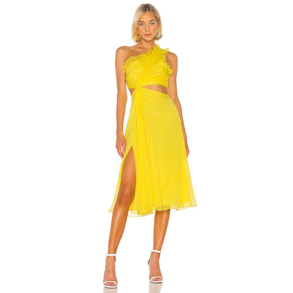 サンク ア セプト Cinq a Sept レディース ワンピース・ドレス ワンピース【Corinne Dress】Blazing Yellow