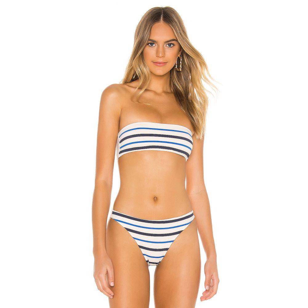 TM リオデジャネイロ TM Rio de Janeiro レディース 水着・ビーチウェア トップのみ【Paqueta Spring Blues Bikini Top】Meringue & Blue