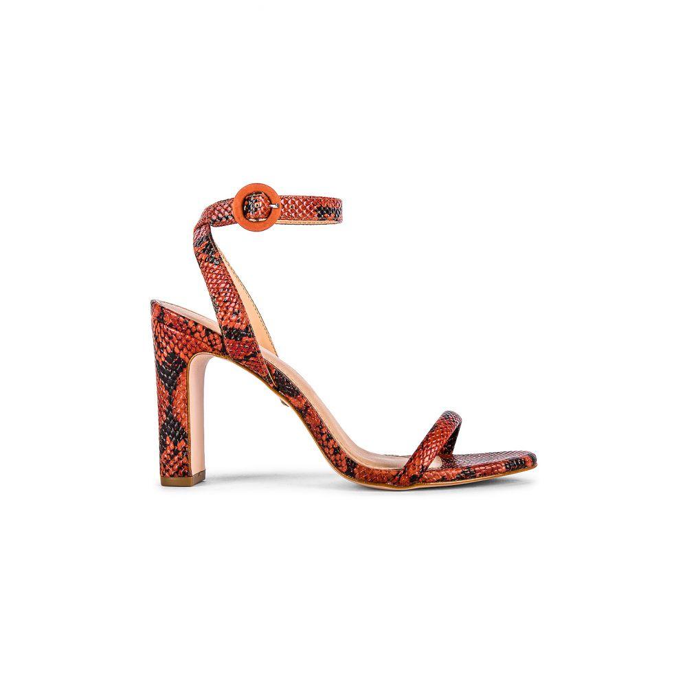 レイエ RAYE レディース シューズ・靴 ヒール【Glendora Heel】Red Snake