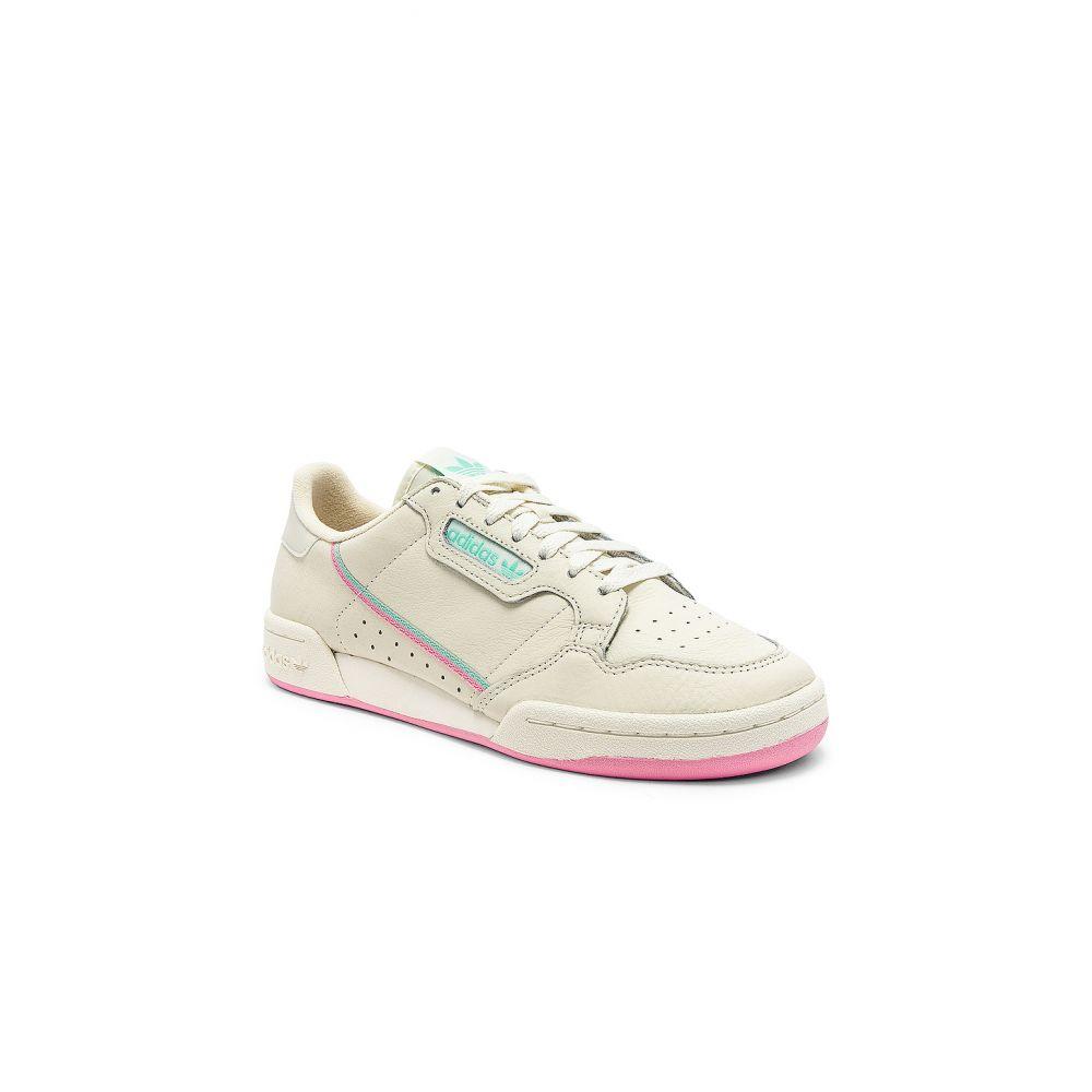 アディダス adidas Originals メンズ シューズ・靴 スニーカー【Continental 80】Off White & Pink
