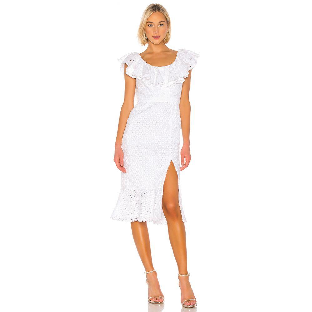 サローニ SALONI レディース ワンピース・ドレス ワンピース【Ella Cotton Dress】White
