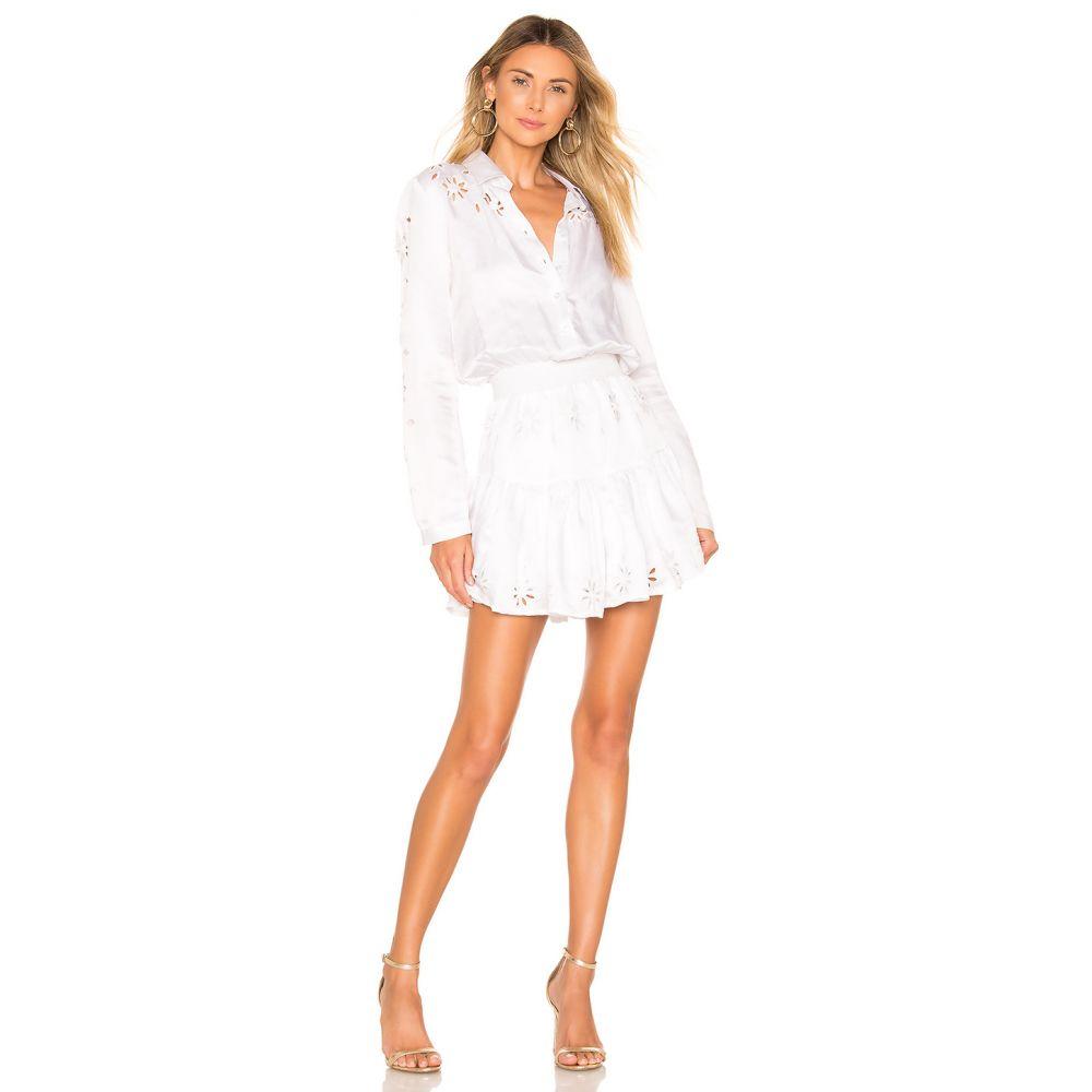 カリーナグリモルディ Karina Grimaldi レディース ワンピース・ドレス ワンピース【Cata Shirt Dress】White