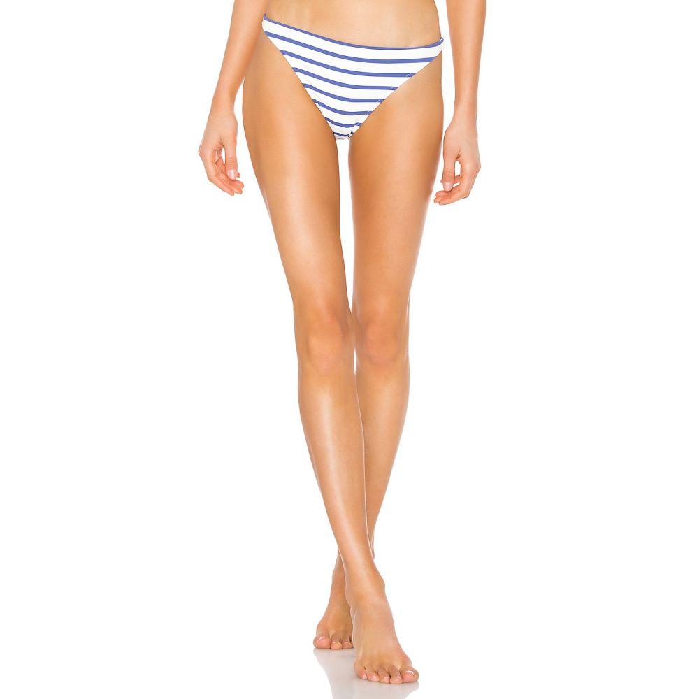 ソリッド&ストライプ Solid & Striped レディース 水着・ビーチウェア ボトムのみ【Eva Bikini Bottom】Navy & Cream Breton